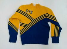 Cheerleader Sweater Blue & Yellow Size: Large (Inv.#:3336124)