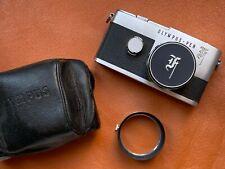 Olympus Pen BIG F 35mm SLR Film Camera w/F.Zuiko Auto-S 38mm F/1.8 Lens & Acces