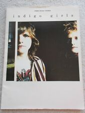 Indigo Girls (piano/vocal/chords) 1990 Paperback