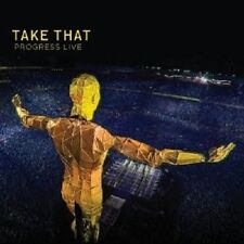 TAKE THAT - PROGRESS (LIVE) 2 CD NEU
