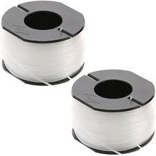 2 x Strimmer Spool & Line For Black & Decker GL425 GL544 GLC1825N GLC1423L