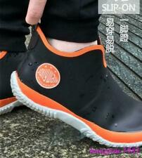 Men's Fishing Rain Boots  Non-slip Casual Rubber sneaker Waterproof Shoes #5-2