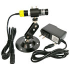 16 68mm 808nm 100mW Infrared Cross Laser Module Focusable W Adapter Glass Lens