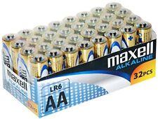 Piles jetables AA alcaline Maxell pour équipement audio et vidéo