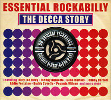 ESSENTIAL ROCKABILLY - THE DECCA STORY (NEW SEALED 2CD)