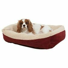 Petmate Aspen Pet Self Warming Cat and Dog Bed 30 X 24 Inch Spice-creme 80137