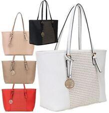 Markenlose Damentaschen im Shopper/Umwelttaschen-Stil aus Kunstleder