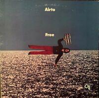 AIRTO*Pre-Owned LP*GATEFOLD-FREE**CTI 6020 RARELY PLAYED