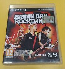 Green Day Rockband GIOCO PS3 VERSIONE ITALIANA