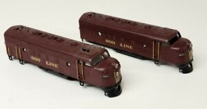 Soo Line F7 unit custom detailed diesel shells 2 shells
