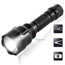 2200LM  CREE Q5 LED C8 Portable Flashlight 18650 Torch Lamp Light TL