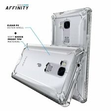 Case For Huawei Honor 5X Poetic【Affinity】Dual Material Protective Bumper Clear