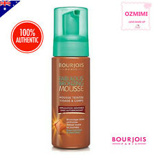 Bourjois Fabulous Bronzing TAN Mousse Foam for Face and Body Made In France