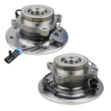 Pair of 2 Wheel Hub Bearing Assembly Front fits Chevy GMC K2500 Suburban 4WD