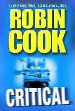 Critical by Robin Cook V-GOOD HC/DJ COMBINE&SAVE