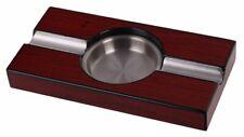 Aschenbecher Zigarrenascher Ciagr Ashtray Holzoptik 20x10x2,5 cm 81355