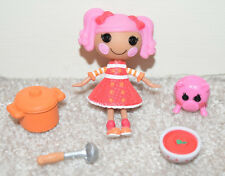 LALALOOPSY MINI DOLL WITH PET PIG PEPPER POTS N PANS COMPLETE
