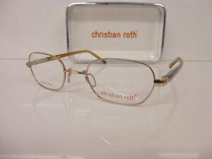 Original Titan-Kunststoffbrille Women's Glasses Christian Roth, Cr 14052 Be 46