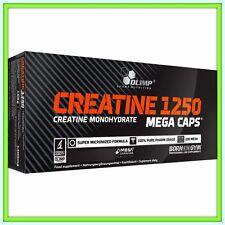 OLIMP CREATINE The STRONGEST CREATINE  Monohydrate 1250m Mega CAPS Free shipping
