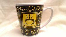 "Rush Hour ""RARE"" Reviera Van Beers Signature Housewares Design Coffee Mug"