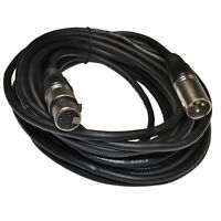 25 Feet 3-pin Cable Patch Cords XLR M to XLR F for Rode NT Series Microphones
