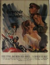 LE CREPUSCULE DES AIGLES affiche originale film format 120x160 cm GRINSSON 1966