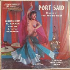 PORT SAID MUSIC OF THE MIDDLE EAST - NUDE CHEESECAKE LP