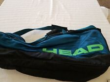 Head Worldwide Performance Bag Wide Large Teal Retro 6 Racket? Ce5