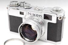 *EXC++++* Nikon S2 Rangefinder camera w/Nikkor-S.C 5cm f/1.4 from Japan