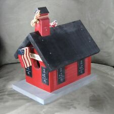 Decorative School House Bird House