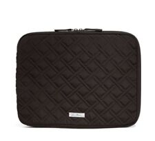 NWT Vera Bradley Laptop Sleeve Microfiber Classic Black