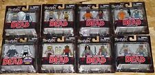 MINIMATES Walking Dead LOT of 8 Exclusive Action Figure 2 packs DIAMOND SELECT