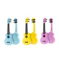21 Inch Acoustic Ukulele Uke 4 Strings Hawaii Guitar Guitar Instrument for S0O2