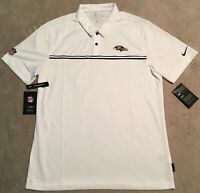 Nike Baltimore Ravens Dri-Fit Polo Size L New with Tags CJ8403-100 $75