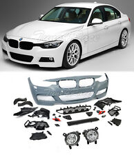 For 12-17 BMW F30 3 series M Tech Sport Front Bumper Cover Fog Lights with PDC