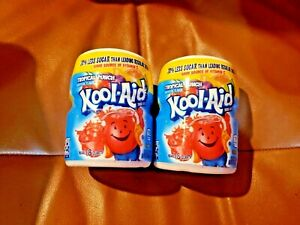 Kool-Aid Sweetened Tropical Punch Powdered Drink Mix - 2 containers/ 36 servings
