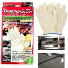 The Amazing Glove Hot Surface Handler Deluxe (2pk.) Brand New & Factory Sealed!