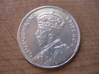 Melbourne Centenary Florin 1934-35 Sterling Silver aUnc/Unc Condition