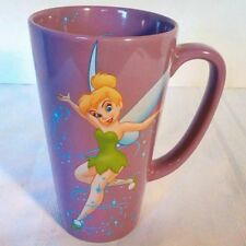 Tinkerbell  Pixie Dust Large Tall Coffee Mug Cup Purple Disney Store