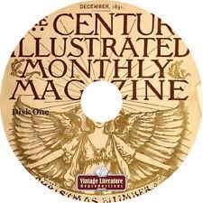 The Century Magazine {1881-1925 Fiction History Literature Advertising} on DVD