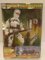 """Action Figure Soldier World Peacekeepers Modern Arctic 12"""" Poseable 33581"""