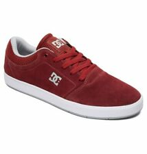 Tg 42 - Scarpe Uomo Skate DC Shoes Crisis Burgandy Dawn Sneakers Schuhe 2019