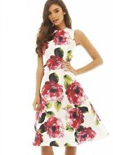 Floral Dress Size 10 12 Midi Fit & Flare Ax Paris BNWT