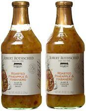 Robert Rothschild Farm Roasted Pineapple & Habanero Glaze Finish Sauce - 2 Pack