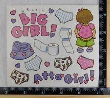 Frances Meyer POTTY TRAINING Stickers ATTA GIRL BABY GIRL