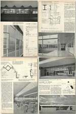 1958 New Factory At Poole, Old Wareham Road Design, Plans