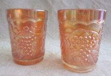Orange Carnival Glass