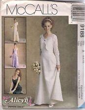 McCalls Sewing Pattern 9188, Dress with Bolero Style Jacket, Size 6 - 10, Uncut