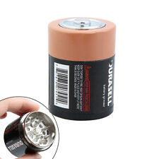 Creative D Battery 1.75 Inch Herbal Herb Spice Tobacco Metal Grinder 3 Parts