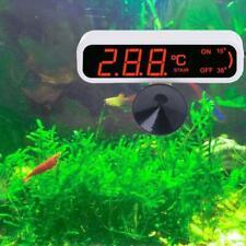 LED Waterproof Submersible Thermometer Fish Aquarium Water Tank Temperature Test